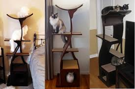 modern cat tower interesting and modern cat trees design for your lovable and