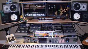 Full Size Of Deska Sliding Uction Built With My Tom Key Music Studio Desk