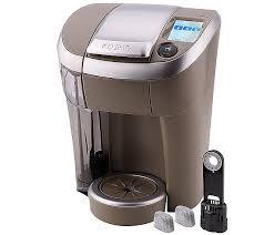 As Is Keurig Vue V500 Single Serve Coffeemaker W Water Filter QVC