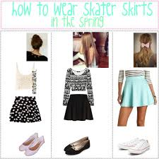 How To Wear Skater Skirts In The Winter