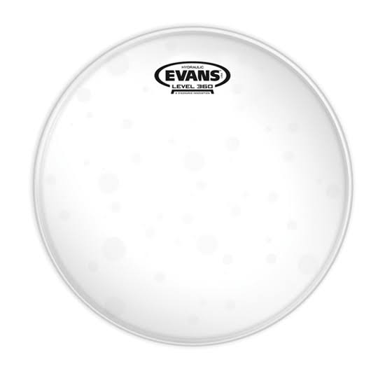 Evans Hydraulic Glass Drum Head - Clear, 14""