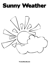 Downloads Online Coloring Page Weather Pages 20 With Additional Books Free