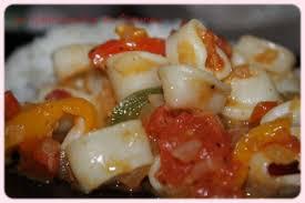 cuisiner l encornet encornets sautés les gourmandises de titenoon