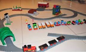 Tidmouth Sheds Wooden Roundhouse by Wooden Thomas The Tank Round House Tidmouth Sheds Raiser Train
