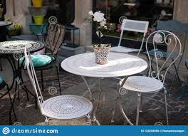 Typical Summer Outdoor Cafe. Tables And Chairs Summer Cafe ... Colorful Tables Chairs Cheap Effective Color Wheel Outdoor Fniturattanwicker Cafe Table And Chair D510 Cheap Restaurant Dessert Home Styles Terra Cotta 3piece Tile Top Patio Bistro Set With Taupe Cushions Form Caf Table Marble 70xh65 Cm Coffee Landing Page Integrity Fniture Cafe Bent Plywood Ding Chair Buy Fniturecheap Chairbent Product On Alibacom Ray Square Caf Charcoal Black Woud As White Rentals For Special Events Restaurant Seating Buyers Guide Isometric Design Fniture