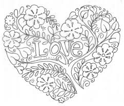 Love Coloring Pages For Adults