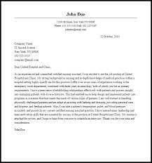 Professional Certified Nursing Assistant Cover Letter Sample