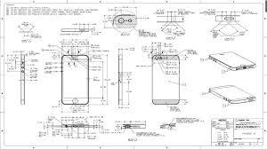Iphone 5 drawing dimensions 3D CAD model GrabCAD