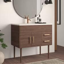 modern sustainably sourced bathroom vanities allmodern