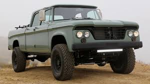 The Latest Dodge Power Wagon From Icon Is So Ugly It's Magnificent