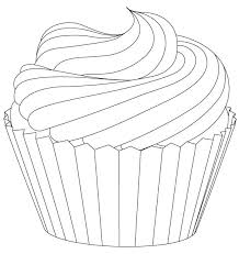 28 of Cupcake Drawing Template