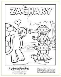FREE Personalized Kids Coloring Pages