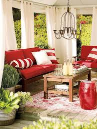 Patio Curtains Outdoor Idea by Decorating With Warm Rich Colors Hgtv Decorating And Patios