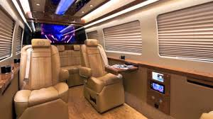 100 G5 Interior Mercedes Benz Super Deluxe Sprinter By All Star Limo