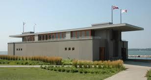 100 Boathouse Architecture Fontana Frank Lloyd Wright Foundation