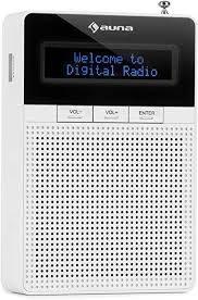 auna digiplug dab steckdosen radio dab radio mit rds ukw pll tuner bluetooth usb port lcd display mit integriertem breitbandlautsprecher
