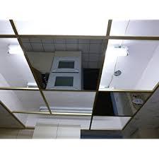 Black Ceiling Tiles 2x4 Amazon by Amazon Com Ctbu Glassless Mirror Ceiling Tile 23 75x47 5 Grid