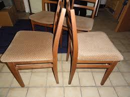 4 stühle retro 70er jahre esszimmer