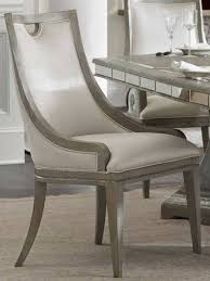 Hooker Furniture Sanctuary Greige With Shimmer On Oak Side Dining Chair