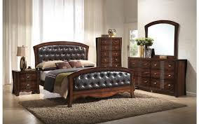 Cambridge King Tufted Upholstered Bedroom Set