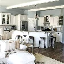 Kitchen Living Room Color Ideas Country Style Paint Colors Farmhouse On