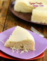 Eggless Vanilla Cake Using Condensed Milk Cakes and Pastries