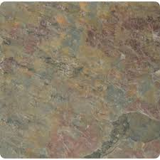 ms international multi color 4 in x 4 in tumbled slate floor and