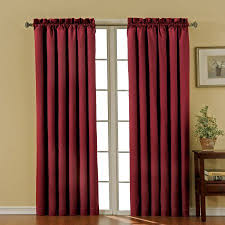 eclipse nottingham thermal energy efficient rod pocket curtain