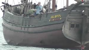 wooden sailing boat of a very old design youtube