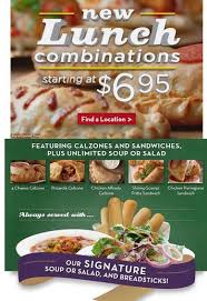 New Olive Garden Lunch Specials Saving a Buck with Mrs Buck