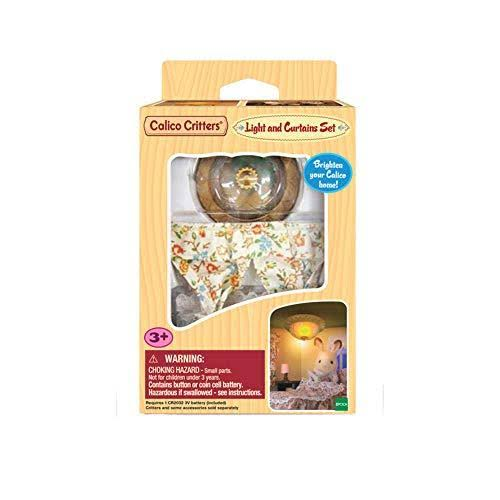 Calico Critters - Light and Curtain Set