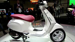 2014 Vespa Primavera 150 4T 3V White Colour Scooter Walkaround