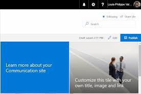 SharePoint Online Communication Sites Explained | Sharegate How To Edit Quick Launch Navigation Links In Sharepoint 2013 Youtube 2010 Sp2010 Top Bar Subsites Duplicates Ingrate Power Bi Reports Your Website Or Nihilent Services Business Critial 8 Ways Manage Links Maven Blog Aurora Bits Innovative Solutions Tools Microsoft Teams No Medata Views Filtering Creating A Intranet Homepage Pythagoras For Site Champions And Users Document Library Modern Look Office 365 Brandcreating Custom Masterpage