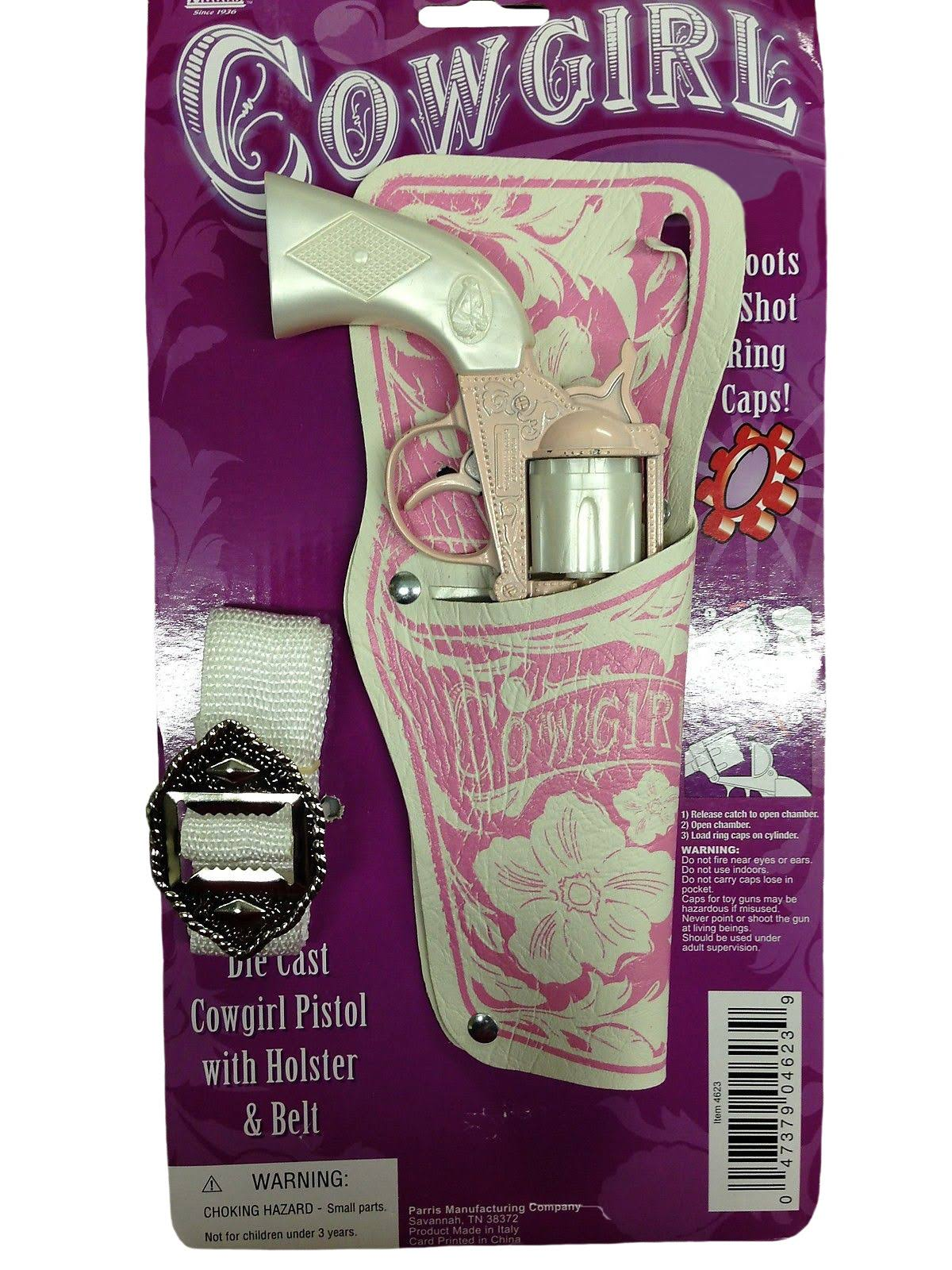 Parris Cowgirl Pistol and Holster Set