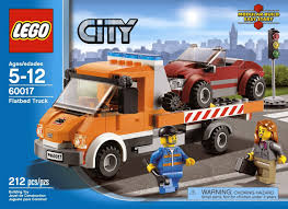 LEGO City Flatbed Truck 60017 - Product Report