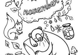 November Coloring Pages Free To Print Coloring4free
