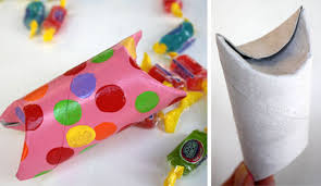 Make Gift Boxes From Toilet Paper Rolls