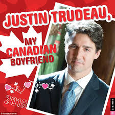 A New Justin Trudeau Calendar Is Available To Buy For 2018