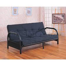 tufted futon sofa bed walmart mainstays contempo metro 11266