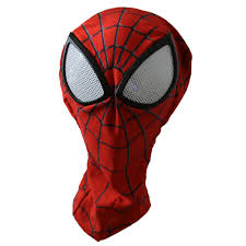 Halloween Contact Lenses Ebay by Man Spider Man Mask With Lenses Halloween Party Accessary Ebay