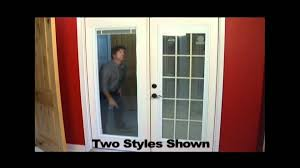 French Patio Doors Outswing Home Depot by Replace Your Patio Door Youtube