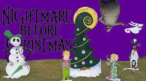Nightmare Before Christmas Halloween Yard Decorations by Christmas Yard Decor Disney Nightmare Before Christmas Jack