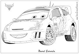 Coloring Pages Cars 2 For
