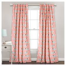 Lush Decor Window Curtains by Sausage Dog Room Darkening Window Curtain Set Lush Décor Target