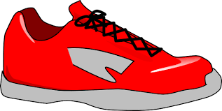 Red Shoe Clip Art At Clker Com Vector Online Royalty Free