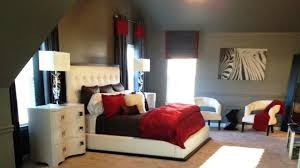 Red And White Bedroom Decorating Ideas Black Room Cream