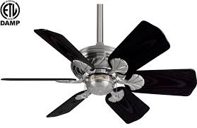 Brushed Nickel Ceiling Fan With Gray Blades by Casablanca Wailea 31