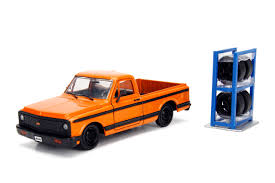 100 Just Trucks Jada Toys 124 Scale Diecast 1972 Chevrolet Cheyenne