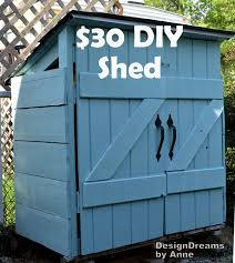 How To Make A Shed Plans by Designdreams By Anne The Mini Shed Project Aka I Built A Shed For 30