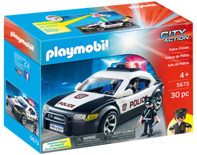 Playmobil 5673 City Action Police Cruiser